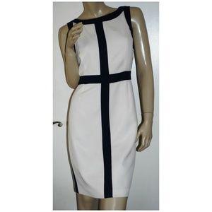 Dress Barn Sheath Dress Cross Career Size 10